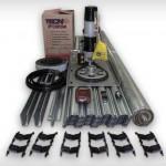 Kit porta industrial de aço